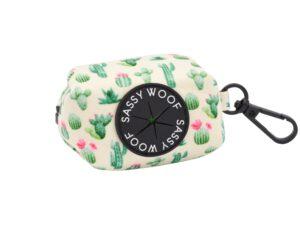 sassy woof waste bag holder sass on point